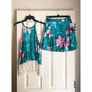 Show Me Your MuMu skirt and top set